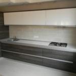 Кухня без ручок із алюмінієвим профілем